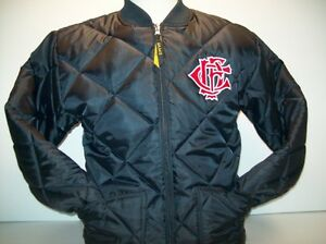 Chicago Fire Department Letter Nest Navy Quilted Jacket Ebay