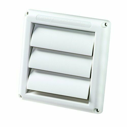 Dryer Vent Cover Exhaust Air Duct Ventilation 4 Hood Weather Resistant NEW USA