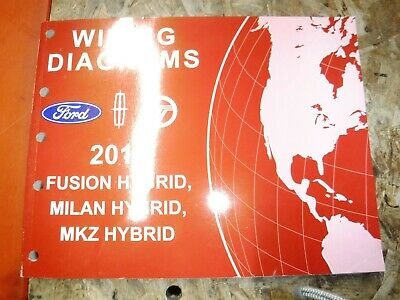 2011 FORD FUSION LINCOLN MKZ MERCURY MILAN HYBRID FACTORY ...
