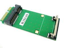 SINTECH mini pci-e express extend adapter for wireless card,mSATA mini SATA SSD