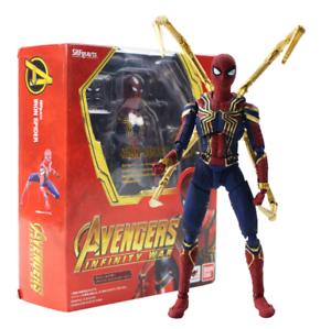 Infinity-Krieg-Spiderman-Action-Figur-THE-AVENGERS-Peter-Parker-Modell-Toy-Marvel