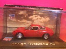 SUPERBE SIMCA ABARTH BERINETTE 1300 1962 NEUF BOITE SOUS BLISTER 1/43 E7