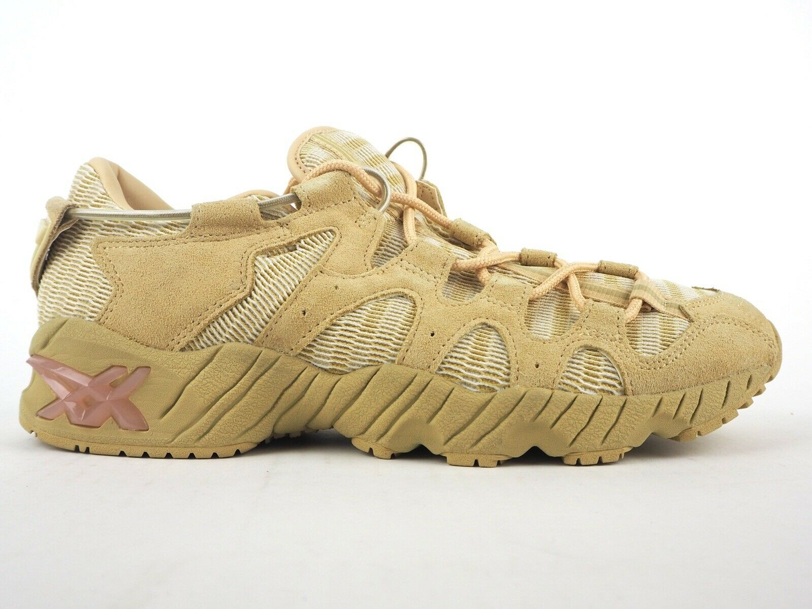 Mens Asics Gel Mai H7Y3L 0505 Marzipan Lace Up Leather Casual Trainers