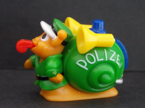Jouet kinder Escargot de service policier 649708 Allemagne 1999