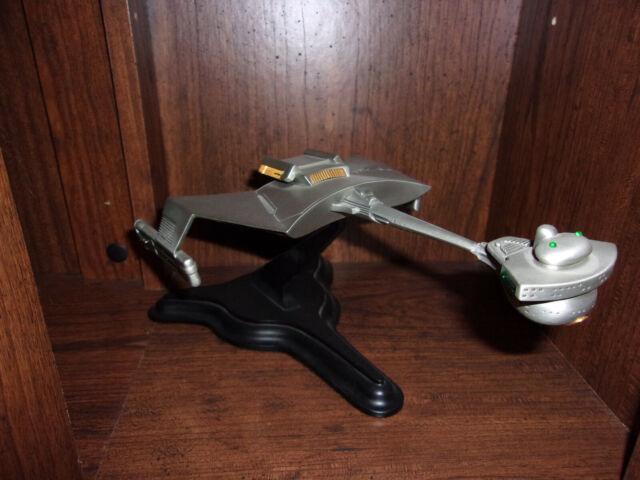 Brand genuine The Franklin Mint Star Trek Klingon Cruiser