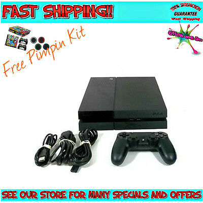 PLAYSTATION 4 PS4 1TB CONSOLE | 2 FREE GAMES | 4 FREE MOVIES | *WARRANTY*