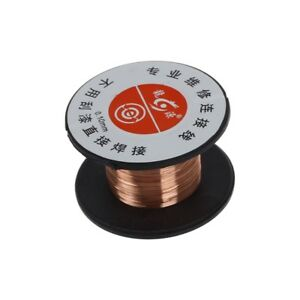 5X-1pcs-15m-0-1mm-cuivre-a-souder-soudure-emaille-bobine-de-fil-Rouleau-Conne-U