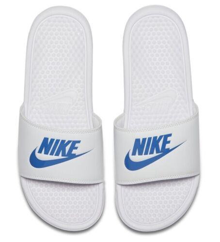 Mens NIKE Benassi JDI Slide Sandals Sliders Flip Flops Slippers UK6-UK15