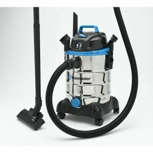 Wet Dry Stainless Steel Vac 6 Gallon Shop Vacuum Cleaner Portable 3.0 HP Blower