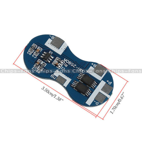 4A 2S 18650 2 Series  Li-ion Lithium Battery Charger Protection Board 7.2V 7.4V
