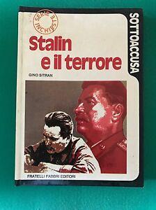 STALIN-E-IL-TERRORE-Gino-Sitran-Fabbri-Editori-1973