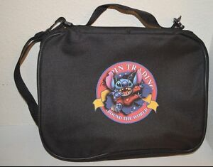 Details about For Your DISNEY TRADING PINs BOOK BAG STITCH trading logo Pin  CASE