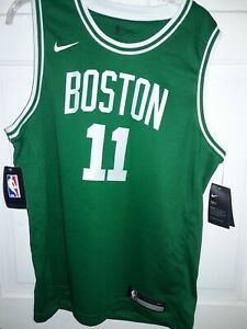 best sneakers 59d84 13bb9 Details about Kyrie Irving Boston Celtics Nike basketball Jersey NBA  uniform shirt - Youth M