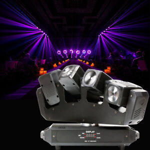 U`king 80W LED Moving Head Bühnenlicht RGBW Beam DMX 13/25CH Disco Light DJ Club