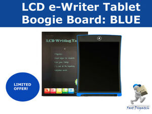 Boogie Board Memo 4141 inch LCD eWriter Tablet Writing Drawing Memo Message Blue 36