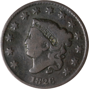 1826 Large Cent Great Deals From The Executive Coin Company