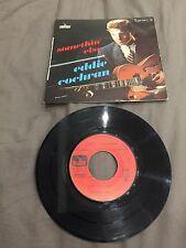 45 tours Eddie Cochran - Somethin' Else - LEP 2163 F (label rouge)