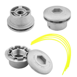 Aluminium-Strimmer-Head-Trimmer-Heads-String-Grass-Brush-Cutter-Accessory