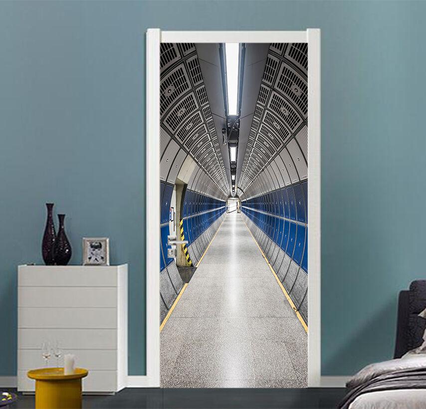 3D Der Gang Tür Wandmalerei Wandaufkleber Aufkleber AJ WALLPAPER DE Kyra