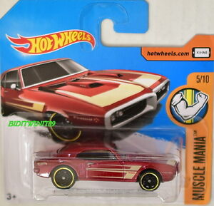 Hot Wheels 2017 Muscle Mania 67 Pontiac Firebird 400 5 10 Short