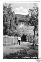 AK, Bürgel Thür., Am Badertor, 1955
