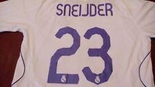 Real Madrid Sneijder #23 2007-08 Adidas Soccer Football Jersey White Sz M Trikot