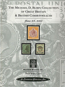 THE-MICHAEL-D-RUBIN-COLLECTION-OF-GB-amp-BRITISH-COMMONWEALTH-AUCTION-BOOK