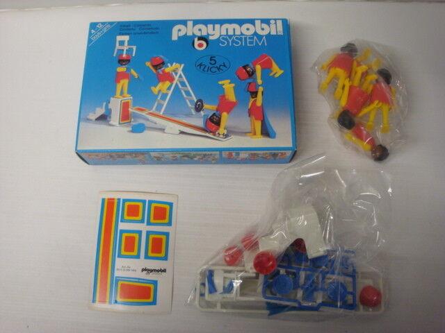 Playmobil ancien klicky neuf en boite sachets scellés jongleurs cirque ref 3512