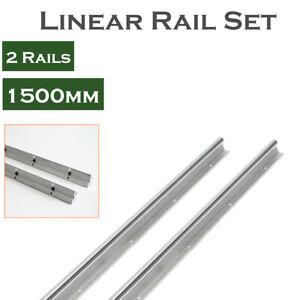 2X SBR20 1000mm LINEAR RAIL20MM fully suppoeted SHAFT ROD