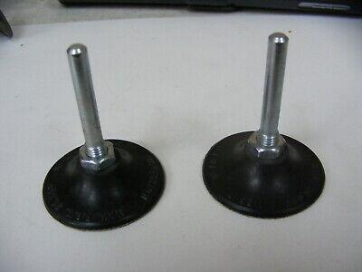 """2 Merit Abrasive Disc Pad Holder TY2 T//O 3//4/"""" MED 1//4/"""" SK"""