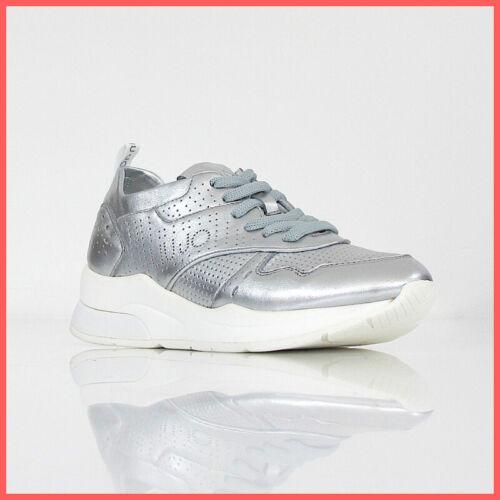 ARGENTO estate 2019 LIU JO scarpe donna SNEAKER KARLIE 14 B19009 P0291 00532 co