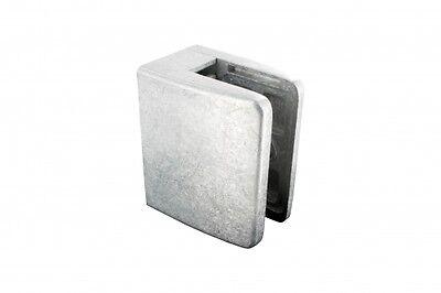 Flacher Anschluss Glasklemme Modell 15 Zinkdruckguss Roh Für 12,76mm Glas BüGeln Nicht