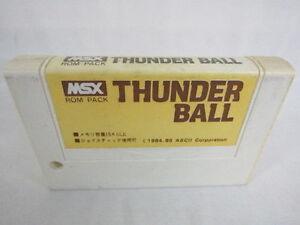 MSX-THUNDER-BALL-Cartridge-only-Import-Japan-Video-Game-1010-msx