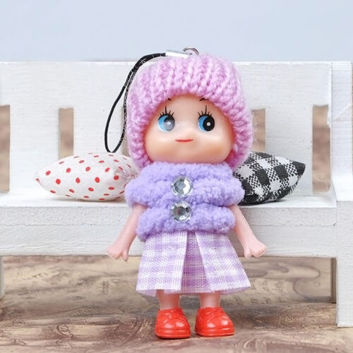 Mini Cute Lovely Dolls Kids Toys Soft Interactive Baby Dolls Toy Gift