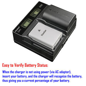 Buy Kastar Slim LCD Charger for Fujifilm NP-W126 NP-W126S