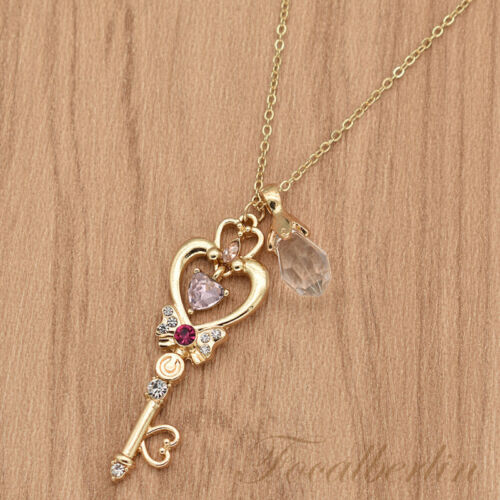 Sailor Moon Halskette Anime Anhänger Kawaii Damen Schmuck Geschenk Fanartikel