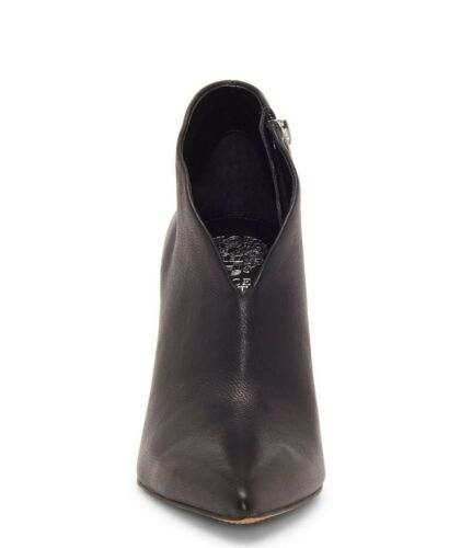 Multiple Sizes Black VC-SESTRIND Vince Camuto Sestrind V Throat Leather Booties