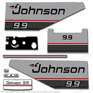 Johnson 1987 1988 Outboard Decal Kit