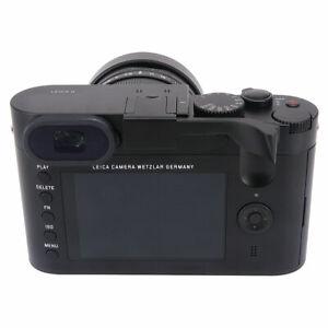 Camara-De-Metal-Thumbs-Up-Agarre-Empunadura-disenado-para-Leica-Q-Q-P-QP-Typ116-Negro
