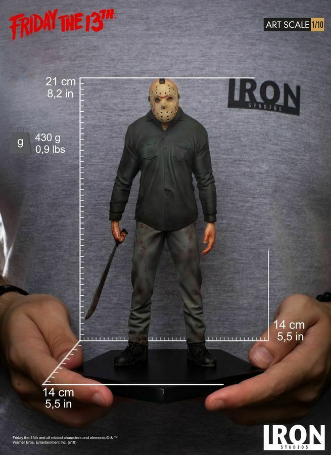 Friday the 13th - Jason Voorhees 1 10 Scale Statue-IRO02658-IRON STUDIOS
