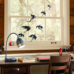 7pcs 3D Gothic Dragons Wall Sticker Game of Thrones Home Decoration Room Art