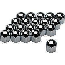 19mm-Chrome-Stainless-Steel-Wheel-Nut-Covers-tool-fits-VOLKSWAGEN-vw-AMAROK