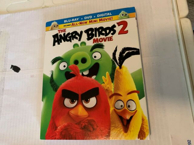 The Angry Birds 2 Movie Blu Ray Disc Only 2019 Never Watched For