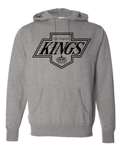 on sale d5e83 eec82 Details about Custom LA Los Angeles Kings Hoodie Sweater Super Soft and  Warm! Vintage design