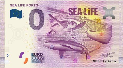 1 x 0 EURO - EuroSouvenir Portugal Sea Life Porto 2019