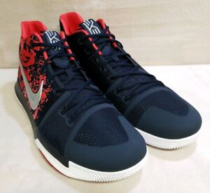 Image is loading Nike,Kyrie,3,Samurai,Christmas,Mystery,Release,QS,