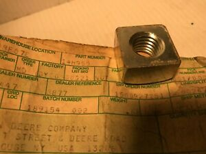 John Deere Original Equipment Wing Nut #14H952