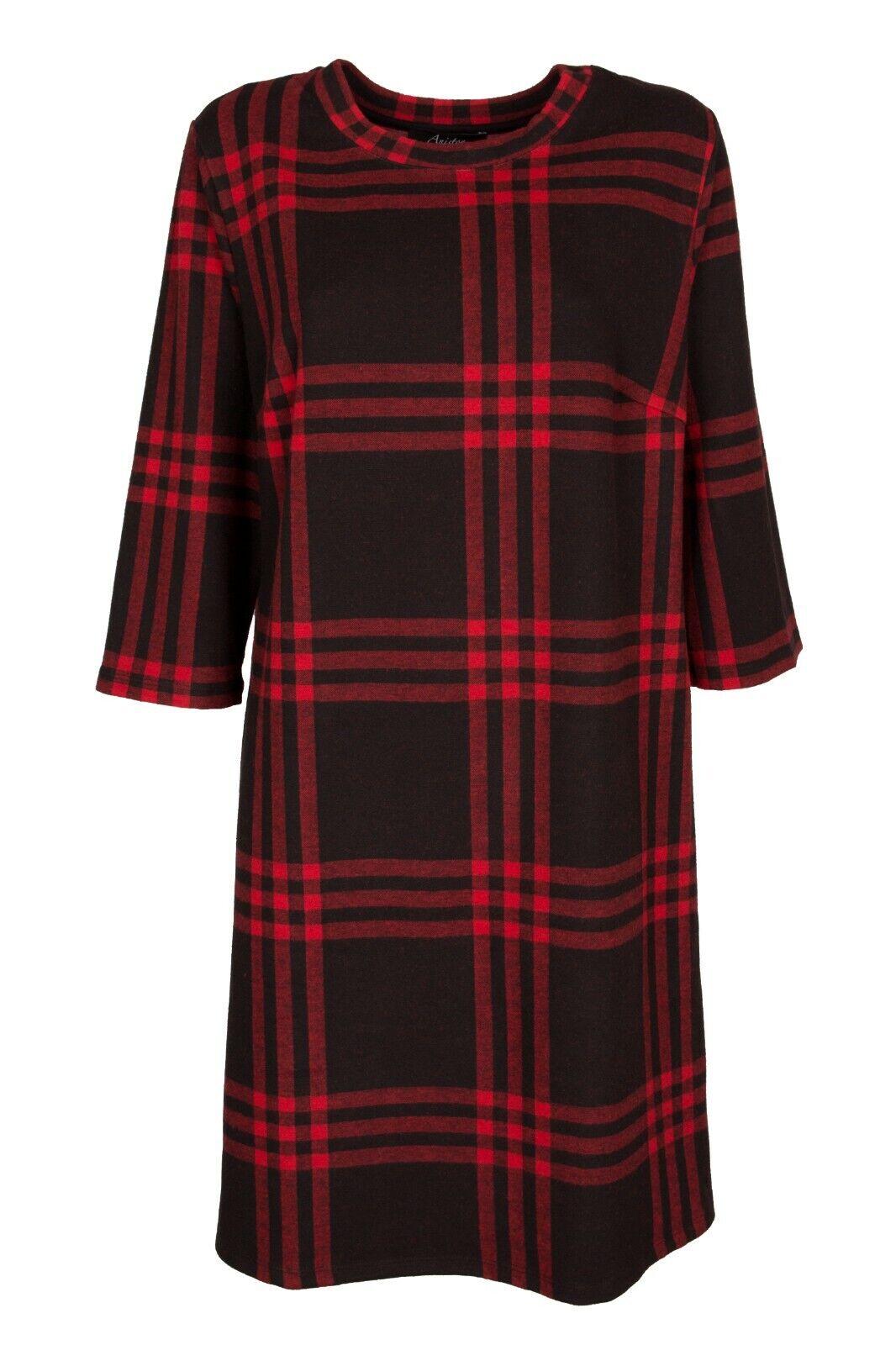 Kleid Sweatkleid Sommerkleid Freizeitkleid Partykleid rot NEU Größe 36 44 46 48