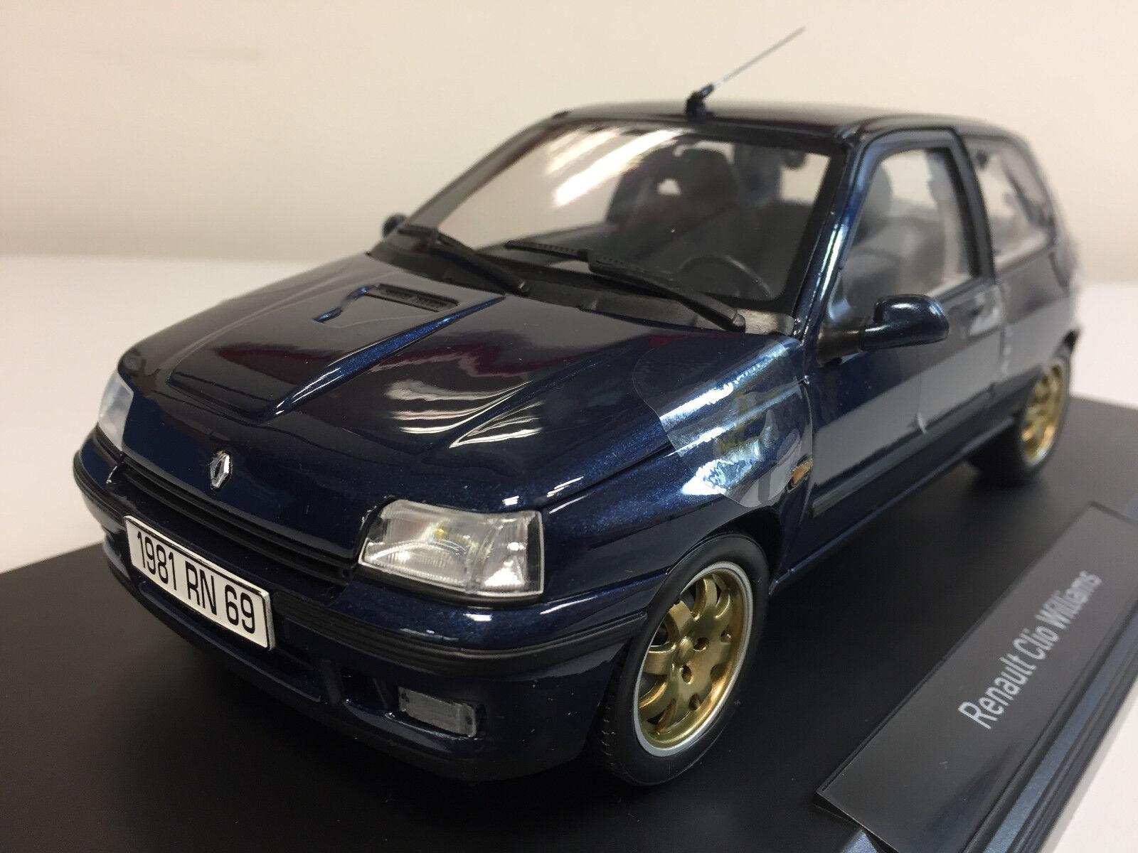 NOREV Renault Clio Williams Phase 1 BLU 1993 1 18 185230 23
