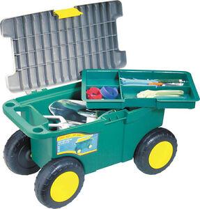 Garten Rollwagen Rollsitz Wagen Gartenwagen Sitzroller Rollhocker Ebay